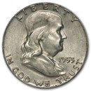 1953 Franklin Half Dollar AU