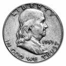 1953 Franklin Half Dollar Fine/XF