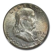 1953 Franklin Half Dollar MS-66 NGC