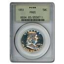 1953 Franklin Half Dollar PR-65 PCGS
