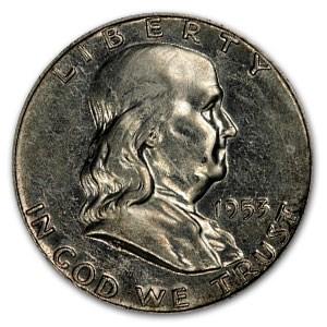 1953 Franklin Half Dollar Proof (Impaired)