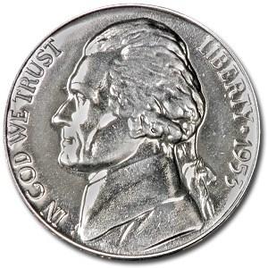 1953 Jefferson Nickel Proof