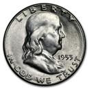 1953-S Franklin Half Dollar AU