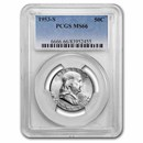 1953-S Franklin Half Dollar MS-66 PCGS