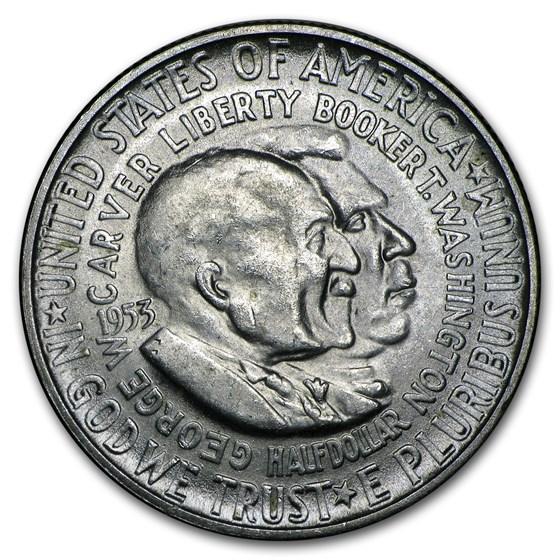 1953-S Washington-Carver Half Dollar BU