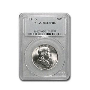 1954-D Franklin Half Dollar MS-65 PCGS (FBL)