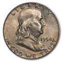 1954 Franklin Half Dollar AU