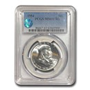 1954 Franklin Half Dollar MS-65 PCGS (FBL)