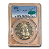 1954 Franklin Half Dollar MS-66+ PCGS CAC (FBL)