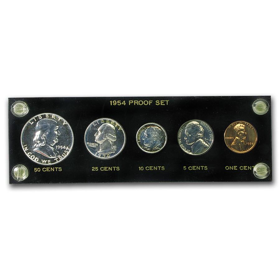 1954 U.S. Proof Set (Hard Plastic Holder)