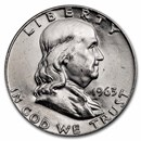 1955-1963 Franklin Half Dollar BU