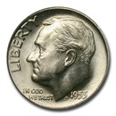 1955-D Roosevelt Dime MS-67 PCGS (FB)