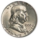 1955 Franklin Half Dollar AU