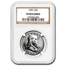1955 Franklin Half Dollar PF-68 CAMEO NGC