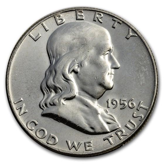 1956 Franklin Half Dollar BU