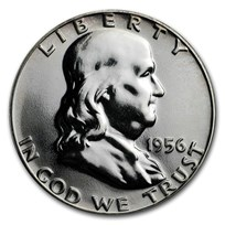 1956 Franklin Half Dollar Gem Proof