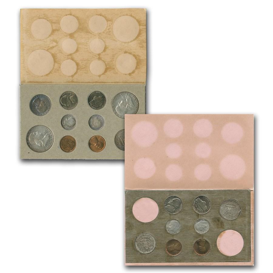 1956 U.S. Double Mint Set