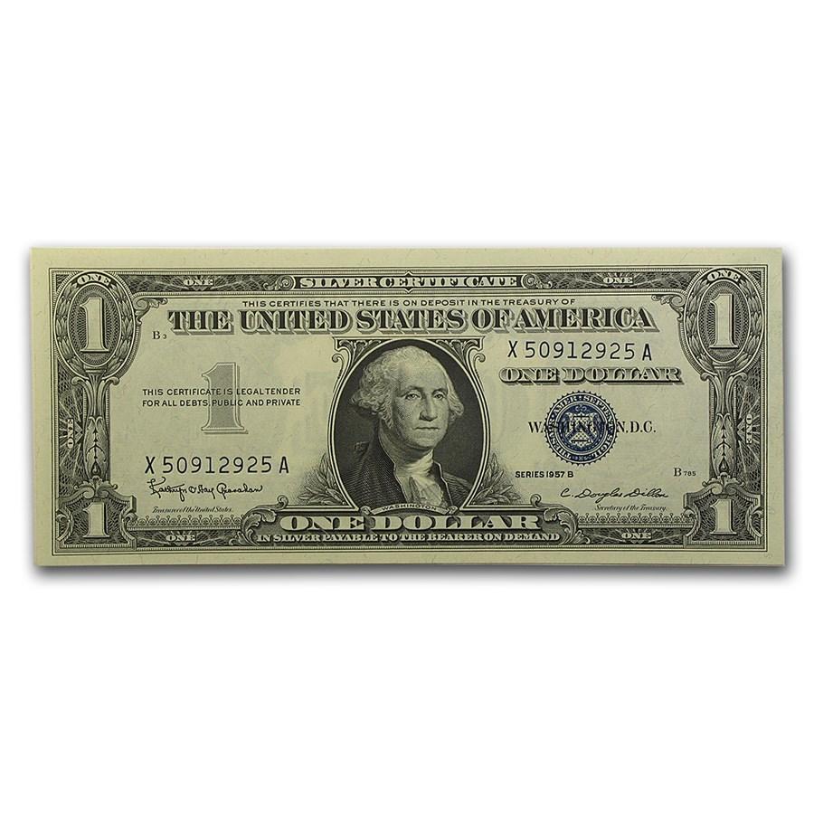 1957-B $1.00 Silver Certificate CU (Fr#1621)