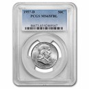 1957-D Franklin Half Dollar MS-65 PCGS (FBL)