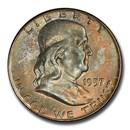 1957-D Franklin Half Dollar MS-66 PCGS (FBL)