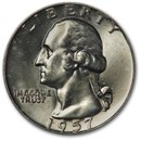 1957-D Washington Quarter BU