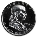 1957 Franklin Half Dollar Gem Proof