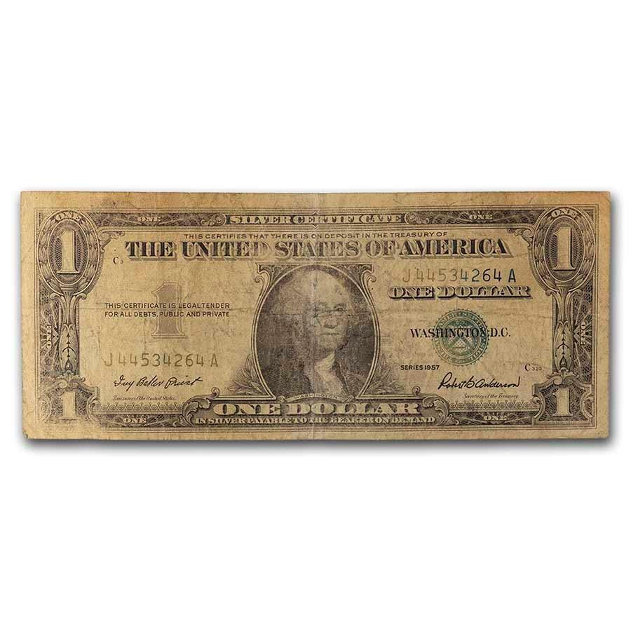 1957s $1.00 Silver Certificates Culls
