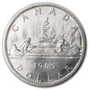 1958-1967 Canada Silver Dollar BU/Prooflike (Sealed)