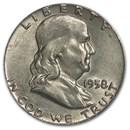 1958 Franklin Half Dollar Fine/AU