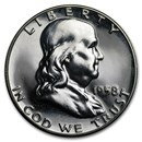 1958 Franklin Half Dollar Gem Proof