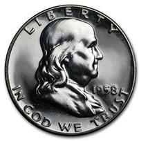 1958 Franklin Half Dollar Gem Proof