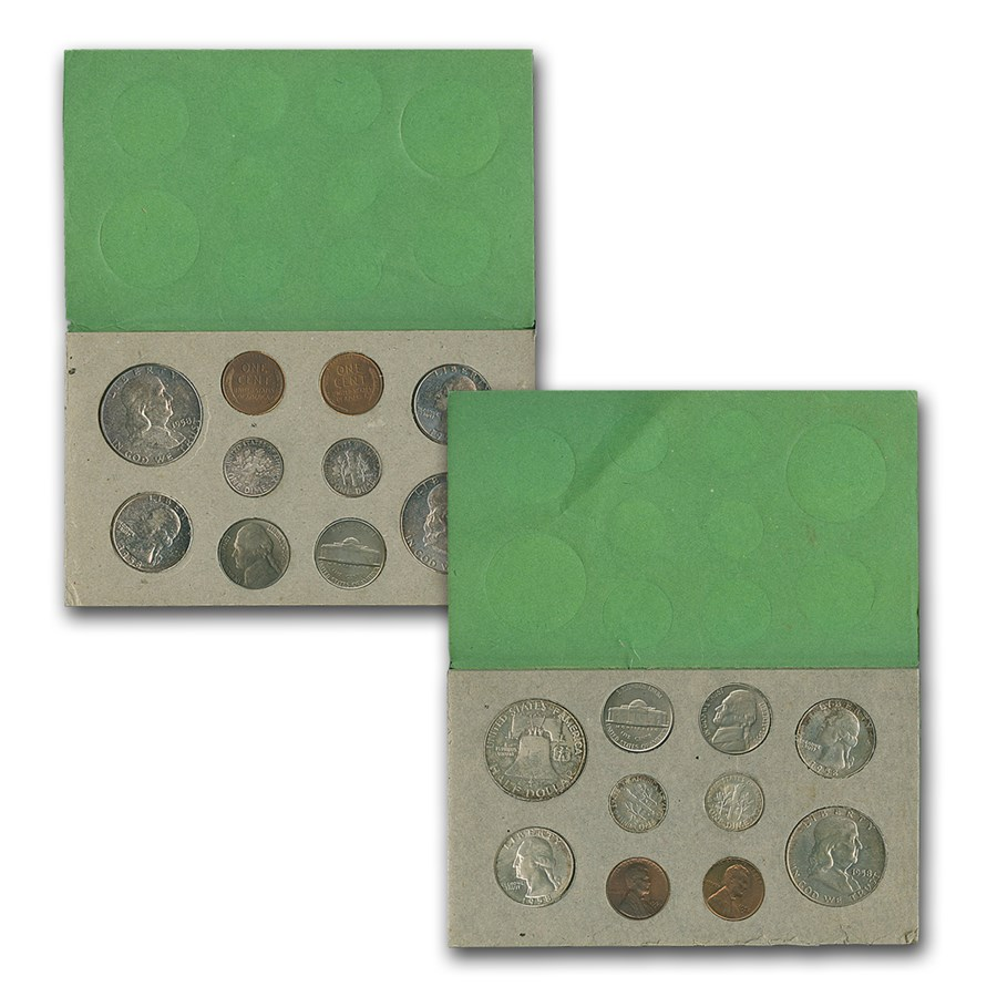1958 U.S. Double Mint Set