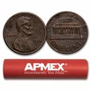 1959-1982 Copper Lincoln Cent 50-Count Roll Avg Circ