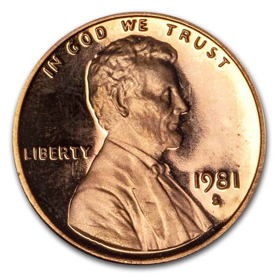 1959-1982 Lincoln Memorial Proof (Impaired)