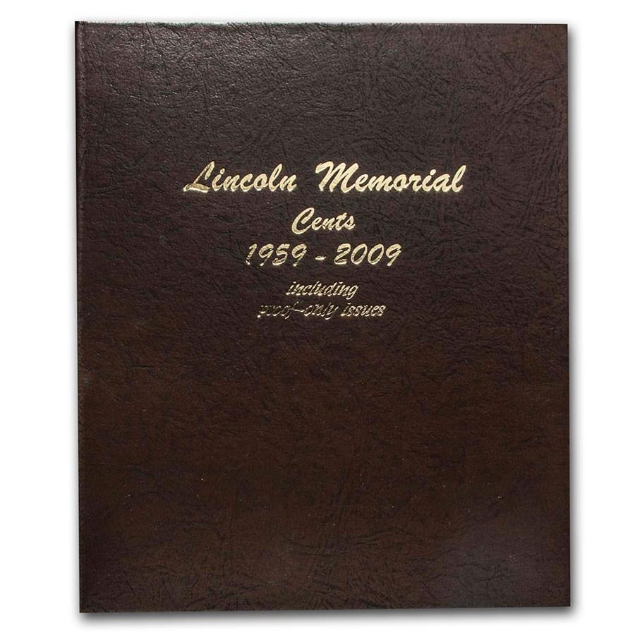 1959-2009 P,D,S Lincoln Memorial Cent Set BU/Proof (Dansco Album)