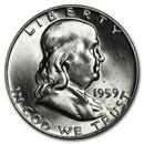 1959-D Franklin Half Dollar BU