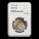 1959-D Franklin Half Dollar MS-67 NGC (FBL)