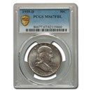 1959-D Franklin Half Dollar MS-67 PCGS (FBL)