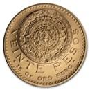 1959 Mexico Gold 20 Pesos BU (Restrike)