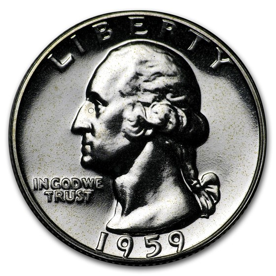 1959 Washington Quarter Gem Proof