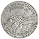 1960 Cameroon 50 Francs Giant Eland BU
