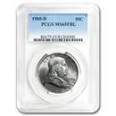 1960-D Franklin Half Dollar MS-65 PCGS (FBL)