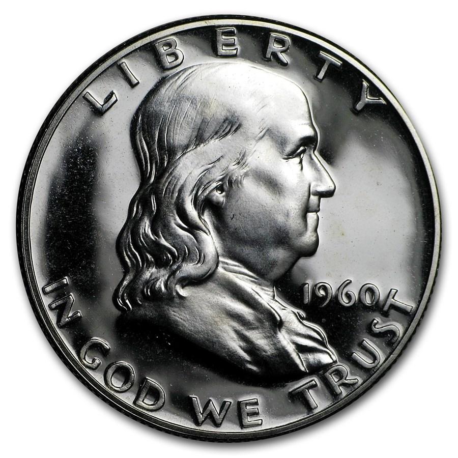 1960 Franklin Half Dollar Gem Proof