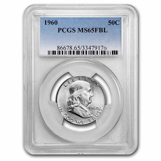 1960 Franklin Half Dollar MS-65 PCGS (FBL)