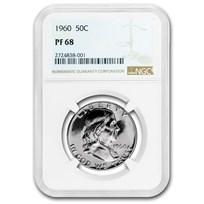1960 Franklin Half Dollar PF-68 NGC