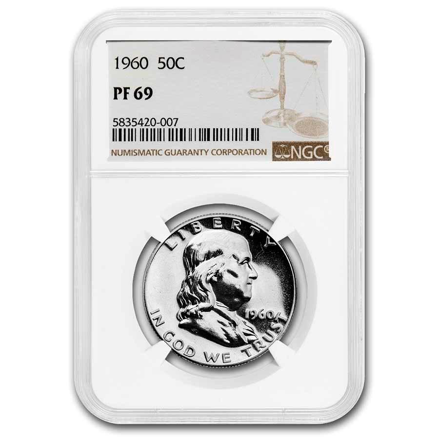 1960 Franklin Half Dollar PF-69 NGC