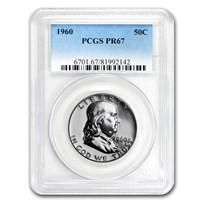 1960 Franklin Half Dollar PR-67 PCGS