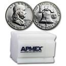 1960 Proof Franklin Half Dollar 20-Coin Roll