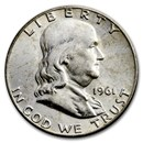 1961-D Franklin Half Dollar BU