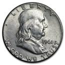 1961 Franklin Half Dollar Fine/AU